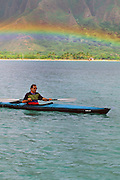 Paul Theroux Kayaking, Hawaii