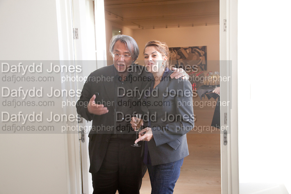 DAVID TANG; TRACEY EMIN; , Phillips de Pury and Company.- BRIC- Exhibition and auction celebrating Brazil, Russia, India and China at the Saatchi Gallery. London.  17 April 2010.