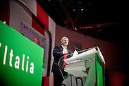 ROMA. MASSIMO D'ALEMA DURANTE IL SUO DISCORSO ALL'ASSEMBLEA NAZIONALE DEL PARTITO DEMOCRATICO; MASSIMO D'ALEMA DEMOCRATIC PARTY