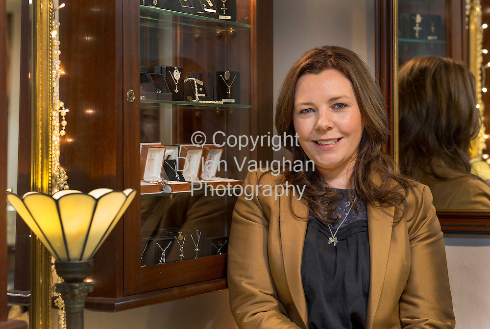 13/3/03.Rita Brennan pictured at Lorimat on Kieran Street in Kilkenny..Picture Dylan Vaughan.