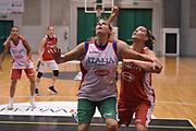 Elisa Ercoli<br /> Nazionale Italiana Femminile Senior - Allenamento<br /> FIP 2018<br /> Treviso, 13/08//2018<br /> Foto GiulioCiamillo / Ciamillo-Castoria