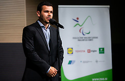 Tomas Varga during Closing ceremony at Day 4 of 16th Slovenia Open - Thermana Lasko 2019 Table Tennis for the Disabled, on May 11, 2019, in Thermana Lasko, Lasko, Slovenia. Photo by Vid Ponikvar / Sportida