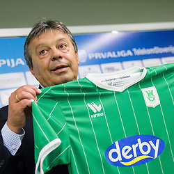 20131022: SLO, Football - Milorad Kosanovic as a new head coach of NK Olimpija Ljubljana