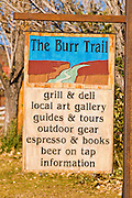 The Burr Trail Grill in Boulder, Grand Staircase-Escalante National Monument, Utah