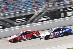 July 1, 2018 - Joliet, Illinois, United States of America - persons}\ battles for position during the Overton's 400 at Chicagoland Speedway in Joliet, Illinois  (Credit Image: © Justin R. Noe Asp Inc/ASP via ZUMA Wire)