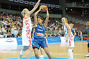 DESCRIZIONE : Riga Latvia Lettonia Eurobasket Women 2009 Final Russia Francia Russia France<br /> GIOCATORE : Emmeline Ndongue<br /> SQUADRA : Francia France<br /> EVENTO : Eurobasket Women 2009 Campionati Europei Donne 2009 <br /> GARA : Russia Francia Russia France<br /> DATA : 20/06/2009 <br /> CATEGORIA : penetrazione tiro<br /> SPORT : Pallacanestro <br /> AUTORE : Agenzia Ciamillo-Castoria/E.Castoria<br /> Galleria : Eurobasket Women 2009 <br /> Fotonotizia : Riga Latvia Lettonia Eurobasket Women 2009 Final Russia Francia Russia France<br /> Predefinita :