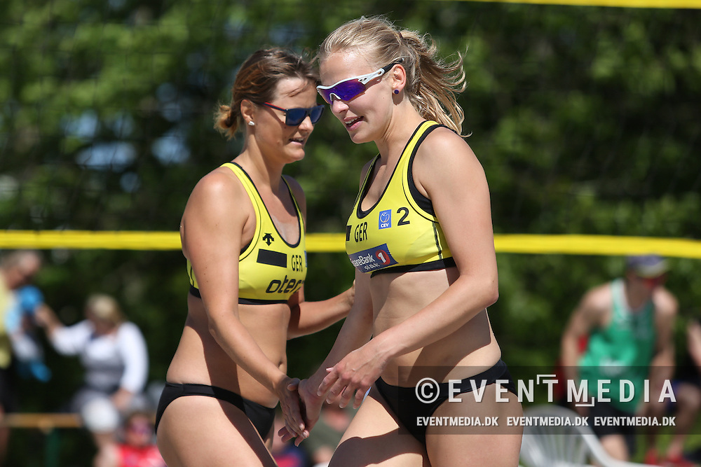 Beachvolley: Odense Grand Slam on the Danish Beachvolley Tour 2015, 6.6.2015 in Odense, Denmark.