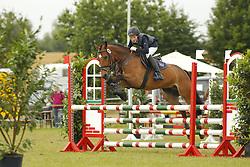 Westphal Luisa, Streicher 2<br /> Eutin - Dressur- und Springturnier<br /> Ponystilspringen<br /> © www.sportfotos-lafrentz.de/Stefan Lafrentz
