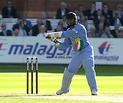 .13/07/2002.Sport - Cricket -NatWest Series Final- Lords.England vs India.Harbajan Singh.