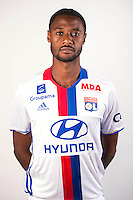 Nicolas Nkoulou during the photocall of Lyon for new season of Ligue 1 on September 22nd 2016 in Lyon<br /> Photo : OL / Icon Sport
