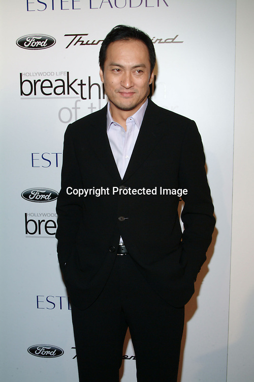 Ken Watanabe<br />2003 Movieline&rsquo;s Hollywood Life&rsquo;s &ldquo;Breakthrough Of The Year&rdquo; Awards<br />The Highlands Club at Hollywood &amp; Highland<br />Hollywood, CA, USA  <br />Saturday, November 15, 2003   <br />Photo By Celebrityvibe.com/Photovibe.com