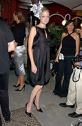 LADY ELOISE ANSON at the launch of 'Blow Lips' a new lipstick by Isabella Blow and MAC Makeup held at the the Blow de la Barra Gallery, 35 Heddon Street, London on 7th September 2005.<br /><br />NON EXCLUSIVE - WORLD RIGHTS