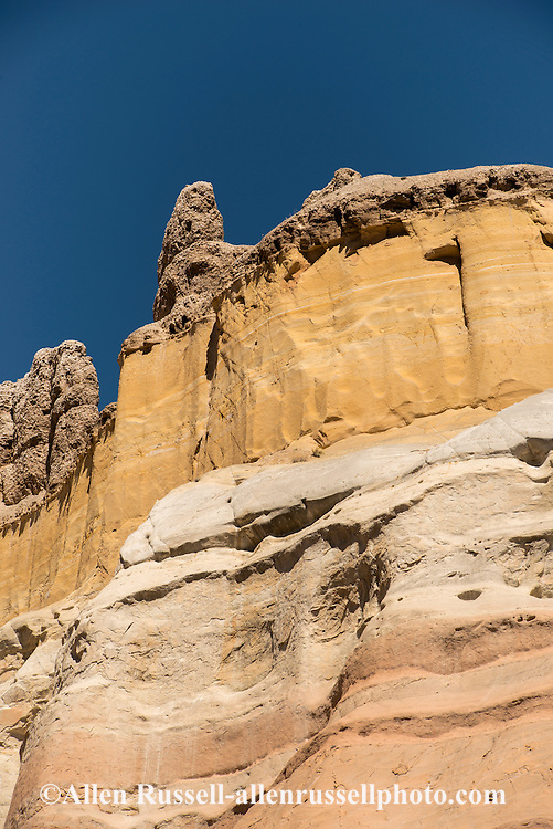 Rock formation, owl, Carson National Forest, outside Abiquiu, New Mexico