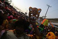 The annual Carnival of Barranquilla on the Caribbean coast of Colombia. (Photo/Scott Dalton)
