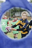 Saracens MasterClass at Hertford RFC. 19-8-08. Under 11s