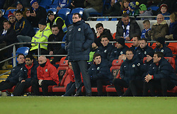 Blackburn Rovers Manager, Gary Bowyer - Photo mandatory by-line: Alex James/JMP - Mobile: 07966 386802 - 17/02/2015 - SPORT - Football - Cardiff - Cardiff City Stadium - Cardiff City v Blackburn Rovers - Sky Bet Championship
