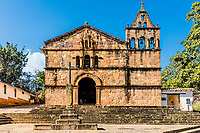 Capilla de Santa Barbara Barichara Santander in Colombia South America
