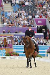 Davison, Richard, Artemis<br /> London - Olympische Spiele 2012<br /> <br /> Grand Prix Special, Teamwertung<br /> © www.sportfotos-lafrentz.de/Stefan Lafrentz
