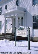 Tioga County Historic Society. Wellsboro, Tioga Co., PA.