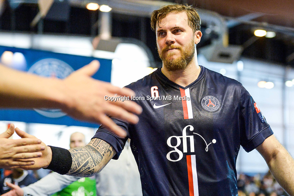 William Accambray  - 12.04.2015 - Paris Handball / Vezprem - Champions League<br />