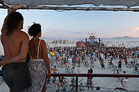 Thanks for letting me climb up on your art car to make this photo. My Burning Man 2018 Photos:<br />