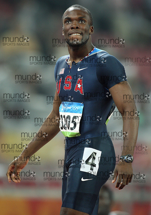 2008 Beijing Olympic Games- Day 7 - Evening- August 21st, 2008 *** LaShawn Merritt -- 400m, USA *** Day 7