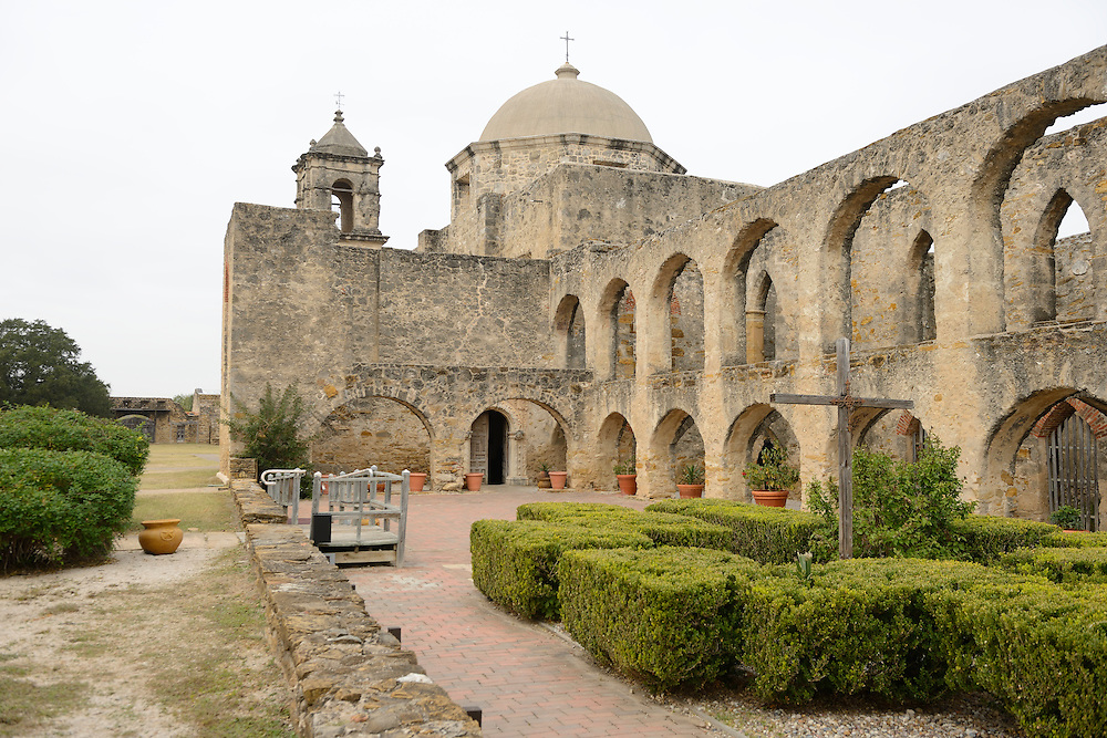 Mission San José y San Miguel de Aguayo is a historic Catholic mission in San Antonio, Texas, USA. near city of San Antonio,,Texas,USA