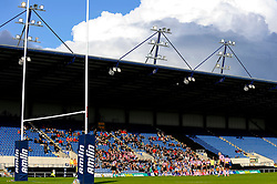 A general view inside the stadium in the second half - Photo mandatory by-line: Rogan Thomson/JMP - Tel: Mobile: 07966 386802 13/10/2012 - SPORT - RUGBY - Kassam Stadium - Oxford. London Welsh v Stade Francais - European Challenge Cup