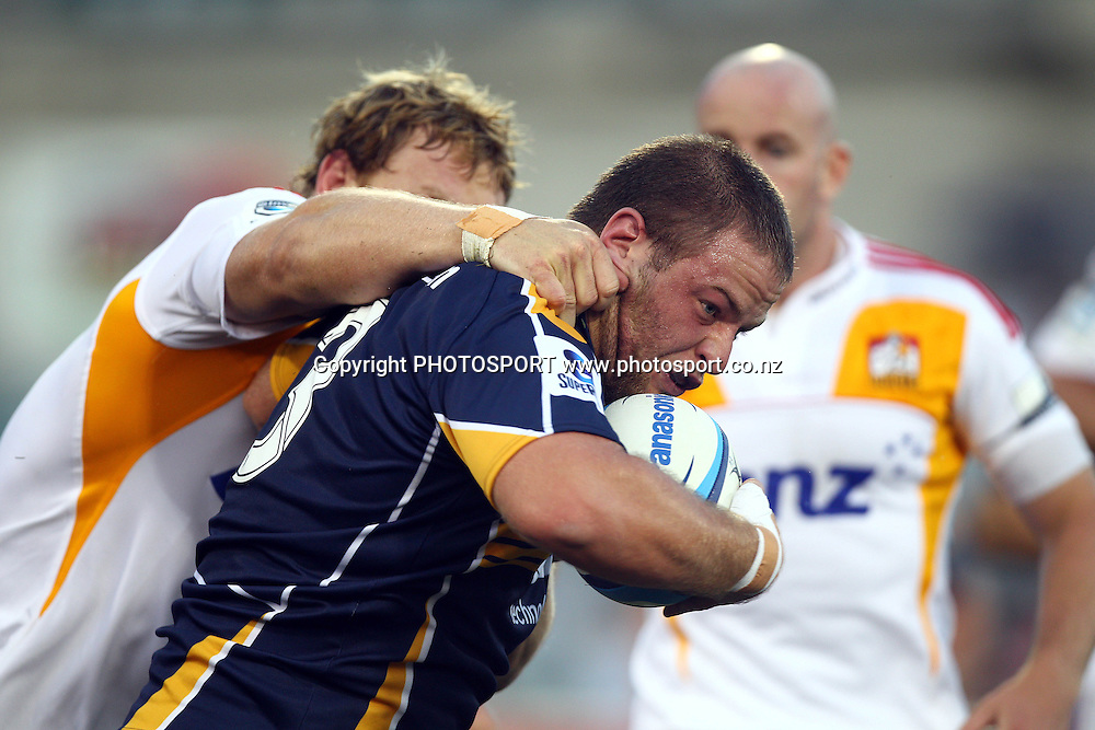 ACT Brumbies v Waikato Chiefs. Sport Rugby Union Super Rugby Representative Provincial. Canberra Stadium. 19 February 2011. Photo  Paul Seiser/Seiser Photography