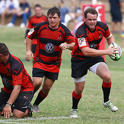 DURBAN, SOUTH AFRICA July2015 - Action during the Junior Castle Murray Cup Final match between Hillcrest vs Richards Bay at Ranleigh Crescent in Durban North in Durban, South Africa. (Photo by Steve Haag Castle Murray Cup)