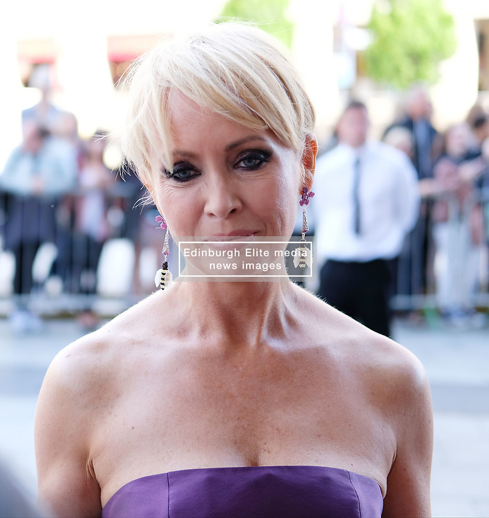 British Soap Awards, Saturday 3rd June 2017<br /> <br /> Stars arrive on the red carpet for the British Soap Awards 2017<br /> <br /> Lysette Anthony<br /> <br /> (c) Alex Todd | Edinburgh Elite media