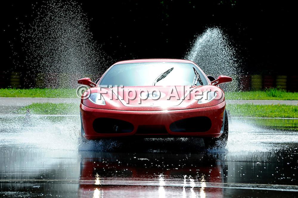 &copy; Ferrari / LaPresse / Filippo Alfero<br /> Fiorano (MO), 03/06/2008<br /> motori<br /> Corso Pilota Evoluzione