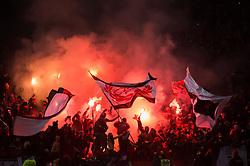December 9, 2017 - Toronto, Ontario, Canada - Toronto FC fans celebrate the second goal of the match during the MLS Cup championship match at BMO Field in Toronto, Canada.  Toronto FC defeats Seattle Sounders 2 to 0. (Credit Image: © Mark Smith via ZUMA Wire)