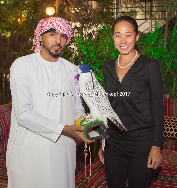 SHUAI ZHANG (CHN), Dubai WTA Players Party<br /> <br /> Tennis - Dubai Duty Free Tennis Championships - WTA -  Players Party - Dubai -  - United Arab Emirates  - 22 February 2017. <br /> &copy; Juergen Hasenkopf