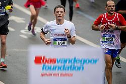 05-11-2017 USA: NYC Marathon We Run 2 Change Diabetes day 3, New York<br /> De dag van de marathon, 42 km en 195 meter door de straten van Staten Island, Brooklyn, Queens, The Bronx en Manhattan / Patrick