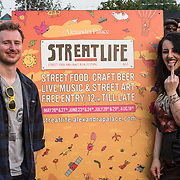 Streetlife,Street Food and Craft Beer Festival at Alexandra Palace, London, UK on May 26, 2018.