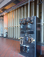 Original Switch Panel, Bellows Falls Power Plant, no longer used, Bellows Falls, VT