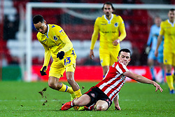 Kyle Bennett of Bristol Rovers takes on George Honeyman of Sunderland - Mandatory by-line: Robbie Stephenson/JMP - 15/12/2018 - FOOTBALL - Stadium of Light - Sunderland, England - Sunderland v Bristol Rovers - Sky Bet League One
