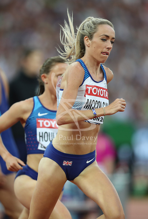 London, August 13 2017 . Eilish McColgan, Great Britain, in the women's 5000m final on day ten of the IAAF London 2017 world Championships at the London Stadium. © Paul Davey.