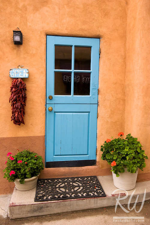 Colorful Doorway, Taos, New Mexico