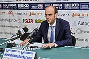 Massimo Cancellieri<br /> Banco di Sardegna Dinamo Sassari - Angelico Biella<br /> Legabasket Serie A Beko 2012-2013<br /> Sassari, 30/09/2012<br /> Foto L.Canu / Ciamillo-Castoria