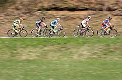CELANO Danilo of Amore&Vita - Selle SMP, TUREK Daniel of Cycling Academy Team, RABITSCH Stephan of Team Felbermayr Simplon Wels, AVERIN Maksym of Synergy Baku Cycling Project, NOVAK Domen of KK Adria Mobil during International cycling race 2nd Adria Mobil Grand Prix, on April 3, 2016 in Novo mesto and neighbourhood, Slovenia. Photo by Vid Ponikvar / Sportida
