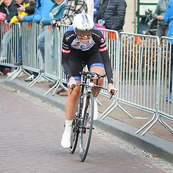 09-04-2016: Wielrennen: Energiewachttour vrouwen: Roden<br />LEEK (NED) wielrennen<br />De vijfde etappe van de Energiewachttour was een individuele tijdrit met start en finish in Leek. Julie Leth