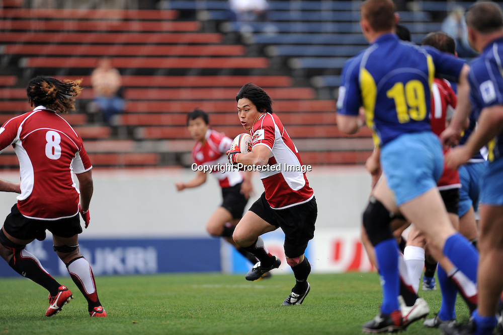Tatsuhiko Otao (JPN), APRIL 25, 2009 - Rugby : HSBC Asian 5 Nations 2009 between Japan 87-10 Kazakhstan at Kintstsu Hanazono Rugby Grouns, Tokyo, Japan. (Photo by Atsushi Tomura/AFLO SPORT) [1035]