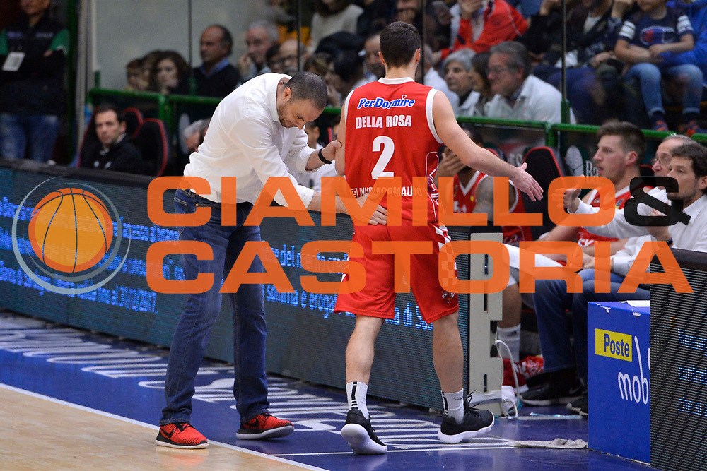 SASSARI 16 DICEMBRE 2017<br /> Banco di Sardegna Dinamo Sassari - The Flexx Pistoia<br /> LegaBasket LBA PosteMobile 2017/2018<br /> NELLA FOTO Vincenzo Esposito<br /> FOTO CIAMILLO - Luigi Canu