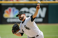 June 15, 2017 - Chicago, IL, USA - Chicago White Sox starting pitcher David Holmberg (64) pitches in the first inning against the Baltimore Orioles at Guaranteed Rate Field Thursday, June 15, 2017 in Chicago. The White Sox won, 5-2. (Credit Image: © Jose M. Osorio/TNS via ZUMA Wire)