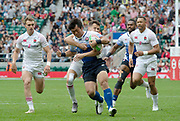 Twickenham, United Kingdom,  26th May 2019, HSBC London Sevens, played at  the RFU Stadium, Twickenham, England, <br /> © Peter SPURRIER: Intersport Images<br /> <br /> 16:07:16  26.05.19