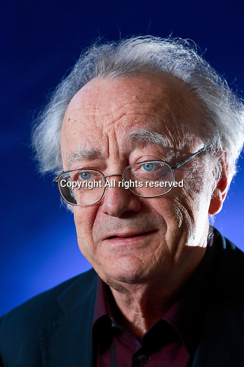 Edinburgh International Book Festival 2013 portrait of Alfred Brendel at Charlotte Square Garden <br /> <br /> Pic by Pako Mera