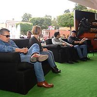 Metepec, México.- Estudiantes de Metepec participaron en la clausura de la Semana  de Prevención del Delito, pudiendo disfrutar de conferencias, música, y diversas actividades.  Agencia MVT / Crisanta Espinosa