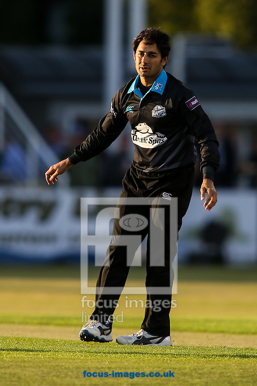 Saeed Ajmal of Worcestershire Rapids during the Natwest T20 Blast match at the County Ground, Northampton<br /> Picture by Andy Kearns/Focus Images Ltd 0781 864 4264<br /> 05/06/2015